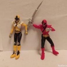 Figuras y Muñecos Power Rangers: POWER RANGERS AMARILLO Y ROJO, S. C. G. Lote 229231485