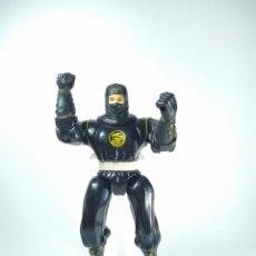 Figuras y Muñecos Power Rangers: FIGURA DE ACCIÓN. POWER RANGER NINJA (NEGRO)BANDAI.1995.. Lote 231227360