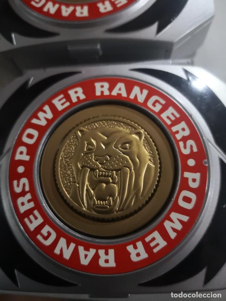 Figuras y Muñecos Power Rangers: 2 caja medallion POWER RANGERS BANDAI AÑO 1995 - Foto 2 - 231476980