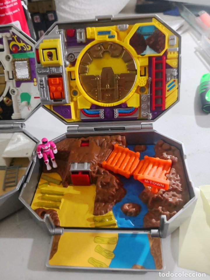 Figuras y Muñecos Power Rangers: 2 caja medallion POWER RANGERS BANDAI AÑO 1995 - Foto 4 - 231476980