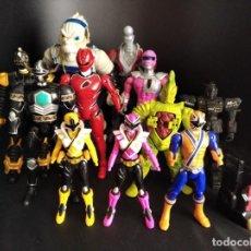Figuras y Muñecos Power Rangers: POWER RANGERS -COLECCION LOTE DE 12 FIGURAS - 00S BANDAI.. Lote 234283395