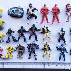 Figuras y Muñecos Power Rangers: LOTE MINI FIGURAS POWER RANGERS TRANSFORMERS ROBOTS ROBOT BIOMAN FIGURA ACCIÓN. Lote 234998230