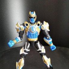 Figuras y Muñecos Power Rangers: NAVY THUNDER RANGER - POWER RANGERS NINJA STORM 2002 BANDAI -. Lote 235057480