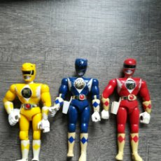 Figuras y Muñecos Power Rangers: 3 POWER RANGERS RANGER 1993 BANDAI 22CM. Lote 235880430