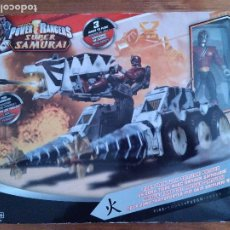 Figuras y Muñecos Power Rangers: POWER RANGERS TIGER TANK TANQUE SUPER SAMURAI CAJA.. Lote 235944895