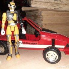 Figuras y Muñecos Power Rangers: COCHE TURBOATTACKER TURBORANGER.POWER RANGERS - BANDAI 1989.. Lote 237361495