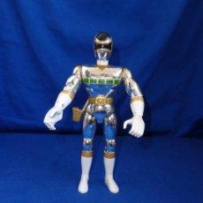 Figuras y Muñecos Power Rangers: POWER RANGER PLATEADO AÑO 1998, EN MUY BUEN ESTADO GENERAL! SM. Lote 237530085