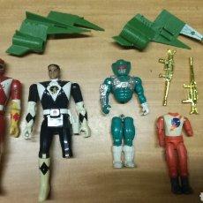 Figuras y Muñecos Power Rangers: LOTE ANTIGUOS POWER RANGERS. Lote 239464540