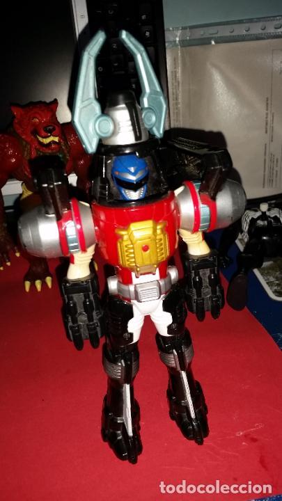 Figuras y Muñecos Power Rangers: LOTE 2 ROBOTS DE POWER RANGERS BANDAI 1996+PERSONAJE AÑO 1995 - AUTO MORPHIN NINJOR MEGAZORD - - Foto 2 - 239728085