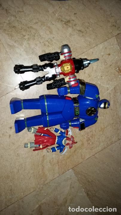 LOTE 2 ROBOTS DE POWER RANGERS BANDAI 1996+PERSONAJE AÑO 1995 - AUTO MORPHIN NINJOR MEGAZORD - (Juguetes - Figuras de Acción - Power Rangers)