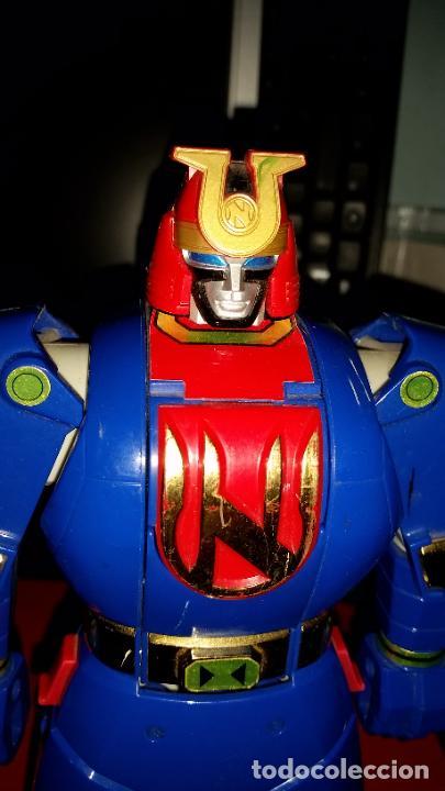 Figuras y Muñecos Power Rangers: LOTE 2 ROBOTS DE POWER RANGERS BANDAI 1996+PERSONAJE AÑO 1995 - AUTO MORPHIN NINJOR MEGAZORD - - Foto 13 - 239728085