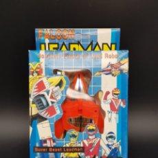 Figuras y Muñecos Power Rangers: LEADMAN SUPER BEAST ROBOT TRANSFORMER POWER RANGERS CABALLEROS DEL ZODIACO - BOOTLEG. Lote 240126515