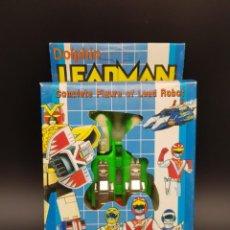Figuras y Muñecos Power Rangers: LEADMAN SUPER BEAST ROBOT TRANSFORMER POWER RANGERS CABALLEROS DEL ZODIACO - BOOTLEG. Lote 240126560
