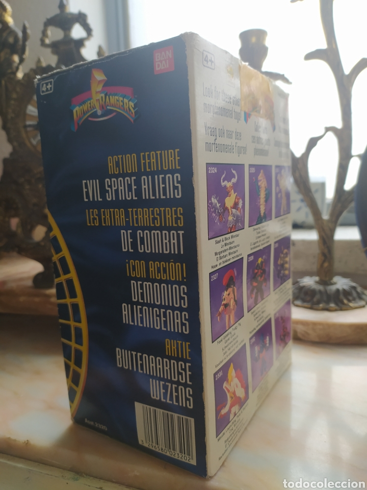 Figuras y Muñecos Power Rangers: Caja Power Rangers Evil Space Aliens - Foto 3 - 240439950