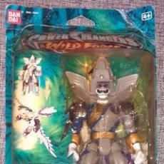 Figuras y Muñecos Power Rangers: POWER RANGERS WILD FORCE LUNA WOLF: IMPECABLE ESTADO/EMBALADO DE ORIGEN/PRECINTADO/SIN ESTRENAR.. Lote 242126325