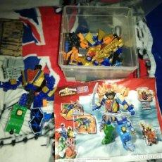 Figuras y Muñecos Power Rangers: POWER RANGERS SUPER SAMURAI MEGAZORD - MEGA BLOKS (INCOMPLETO). Lote 243611880