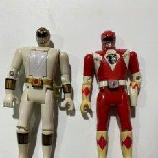 Figuras y Muñecos Power Rangers: DOS MUÑECOS POWER RANGERS 1993 BANDAI. Lote 243826280