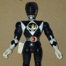 Figuras y Muñecos Power Rangers: POWER RANGERS MIGHTY MORPHIN NEGRO MAMUT ZORD 93 BANDAI. Lote 243981890