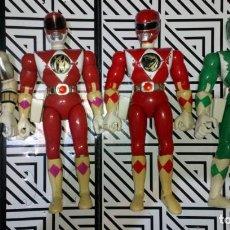Figuras y Muñecos Power Rangers: LOTE DE 4 FIGURAS POWER RANGERS CON DEFECTOS, PARA PIEZAS O REPARAR. Lote 245135935