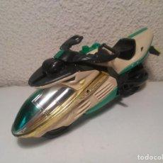 Figuras y Muñecos Power Rangers: MOTO VERDE DE POWER RANGER BANDAI 2000 INCOMPLETA. Lote 245620780