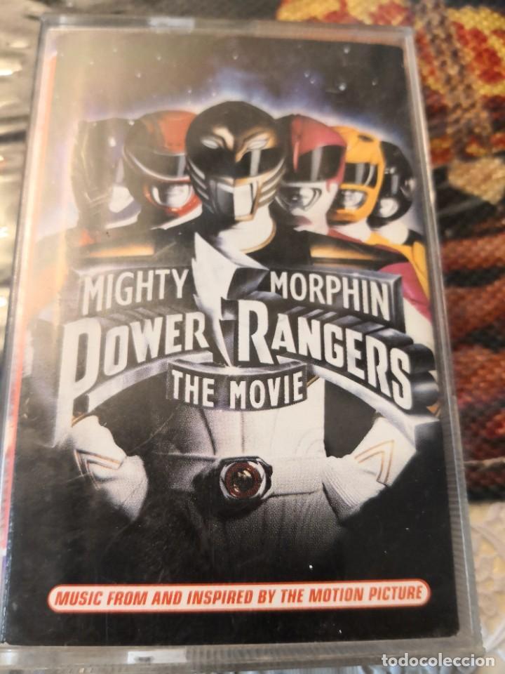 CINTA CASSETTE POWER RANGERS THE MOVIE MIGHTY MORPHIN (Juguetes - Figuras de Acción - Power Rangers)