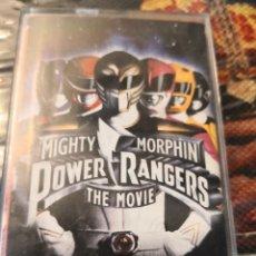 Figuras y Muñecos Power Rangers: CINTA CASSETTE POWER RANGERS THE MOVIE MIGHTY MORPHIN. Lote 251520625