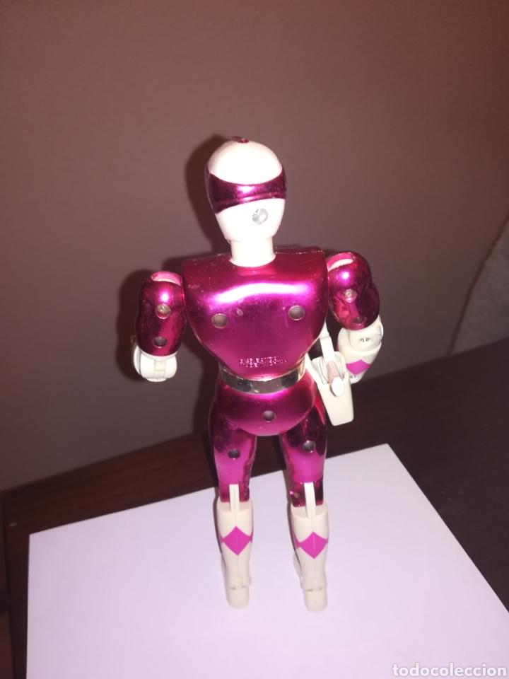 Figuras y Muñecos Power Rangers: POWER RANGERS FIGURA DE ACCION ROSA BANDAI 1993 - Foto 2 - 252821430