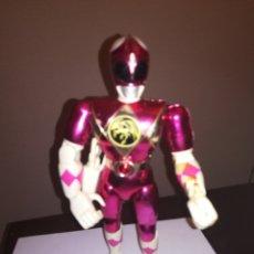 Figuras y Muñecos Power Rangers: POWER RANGERS FIGURA DE ACCION ROSA BANDAI 1993. Lote 252821430