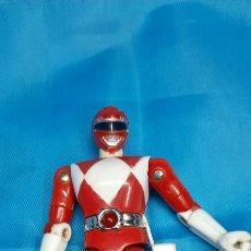 Figuras y Muñecos Power Rangers: POWER RANGER BIOMAN ROJO METALICO. Lote 253345285