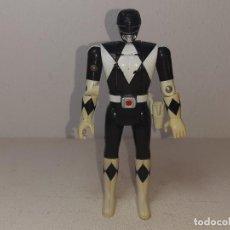 Figuras y Muñecos Power Rangers: POWER RANGERS : ANTIGUA FIGURA - BLACK RANGER NEGRO - ZACK - BANDAI AÑOS 90 MIGHTY MORPHIN 1993. Lote 255672950