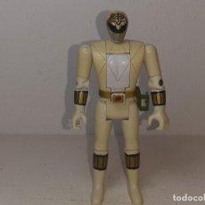 Figuras y Muñecos Power Rangers: POWER RANGERS : ANTIGUA FIGURA - WHITE RANGER BLANCO - TOMMY - BANDAI AÑOS 90 MIGHTY MORPHIN 1993. Lote 255673080