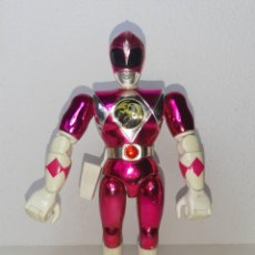 Figuras y Muñecos Power Rangers: POWER RANGERS THE MOVIE : ANTIGUA FIGURA 21 CM PINK RANGER ROSA KIMBERLY BANDAI MIGHTY MORPHIN 1995. Lote 255917475