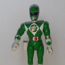 Figuras y Muñecos Power Rangers: POWER RANGERS THE MOVIE : ANTIGUA FIGURA 21 CM GREEN RANGER VERDE TOMMY BANDAI MIGHTY MORPHIN 1995. Lote 255917635