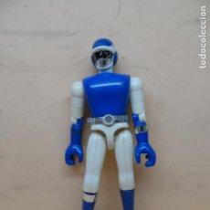 Figuras y Muñecos Power Rangers: FIGURA BIOMAN AZUL DELFÍN 1988 BANDAI TOEI. Lote 261237540