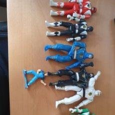 Figuras y Muñecos Power Rangers: LOTE 8 FIGURAS ACCIÓN - POWER RANGERS 1993-1995. Lote 262394050