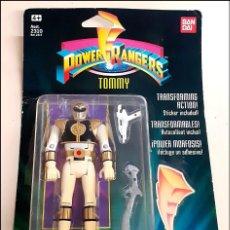 Figuras e Bonecos Power Rangers: POWER RANGERS TOMMY EN BLISTER NUEVO SIN ABRIR. Lote 263551950
