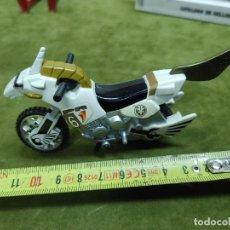 Figuras y Muñecos Power Rangers: MOTO POWER RANGERS BLANCO 1995 95 BANDAI RANGER WHITE. Lote 264984449