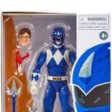 Figuras e Bonecos Power Rangers: FIGURA POWER RANGERS MIGHTY MORPHIN BLUE RANGER HASBRO 15 CM. Lote 265503014