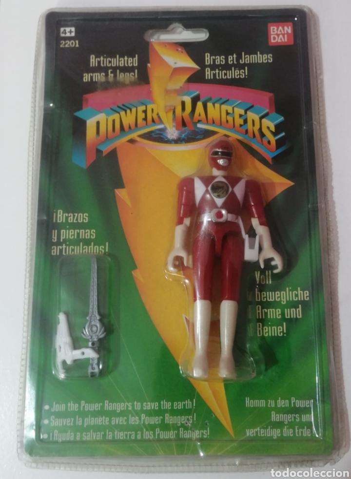 POWER RANGERS 1993 BANDAI NUEVO EN BLISTER (Juguetes - Figuras de Acción - Power Rangers)