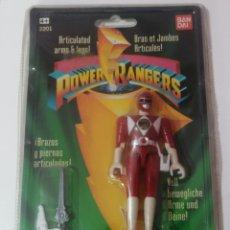 Figuras y Muñecos Power Rangers: POWER RANGERS 1993 BANDAI NUEVO EN BLISTER. Lote 271839983