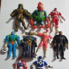Figuras y Muñecos Power Rangers: POWER RANGERS LOTE DE MUÑECOS EN ESTADO BUENO MAS ARTICULOS. Lote 271851748