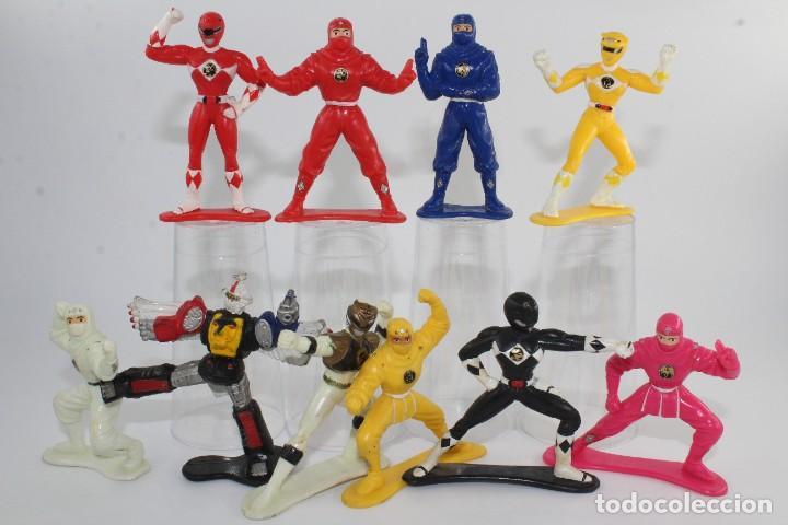 1995 SABAN BANDAI MIGHTY MORPHIN POWER RANGERS COLLECTIBLE FIGURES THE MOVIE SERIES LOTE 10 (Juguetes - Figuras de Acción - Power Rangers)