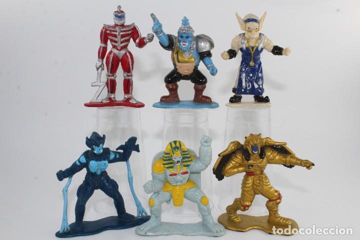 SABAN BANDAI MIGHTY MORPHIN POWER RANGERS COLLECTIBLE FIGURES EVIL SPACE ALIENS LOTE 6 (Juguetes - Figuras de Acción - Power Rangers)