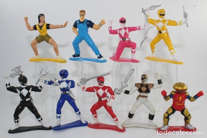 1993-1994 SABAN BANDAI MIGHTY MORPHIN POWER RANGERS COLLECTIBLE FIGURES LOTE 9 (Juguetes - Figuras de Acción - Power Rangers)
