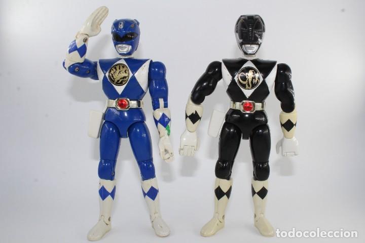 Figuras y Muñecos Power Rangers: 1994 SABAN BANDAI MIGHTY MORPHIN POWER RANGERS KARATE ACTION FULL SET 5 - Foto 4 - 278224223