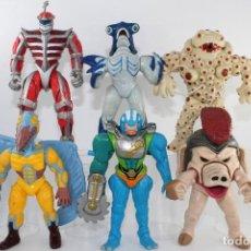 Figuras y Muñecos Power Rangers: 1994-1995 SABAN BANDAI MIGHTY MORPHIN POWER RANGERS 6 ACTION EVIL SPACE ALIENS. Lote 278416773