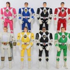 Figuras y Muñecos Power Rangers: 1994-1995 SABAN BANDAI AUTO MORPHIN POWER RANGERS LOTE 8 DIFERENTES. Lote 278417908