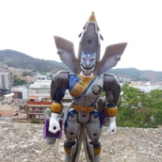 Figuras y Muñecos Power Rangers: POWER RANGERS WILD FORCE LUNAR WOLF FALCON TRANSFORMABLE, BANDAI 2002. Lote 278975368
