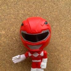 Figuras y Muñecos Power Rangers: AS - FIGURA POWERRANGERS ROJA, 10CM (LOTE23). Lote 280104778