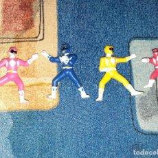 Figuras y Muñecos Power Rangers: MINIATURAS POWER RANGERS. Lote 280114993